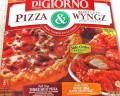 Three Meat DiGiorno Pizza & Wyngz box