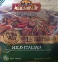 Bag of Frozen Johnsonville Fully-Cooked Mild Italian Sausage Slices