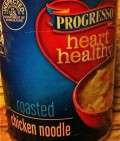 Can of Progresso Heart Healthy Chicken Noodle Soup
