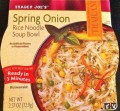 Trader Joe's Spring Onion Rice Noodle Soup Bowl