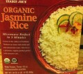 Box of Trader Joe's Organic Jasmine Rice