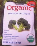 Purely Frozen Organic Broccoli Florets from Costco