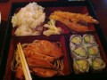Bento box combination lunch from Soho Japanese Bistro