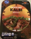 Box of Korean Kalbi Beef from Fry's / Kroger