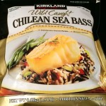 Bag of Kirkland Signature Chilean Sea Bass from Costco