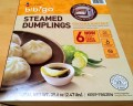 Box of Bibigo Steamed Chicken & Vegetable Dumplings