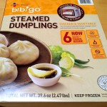 Box of Bibigo Steamed Chicken & Vegetable Dumplings