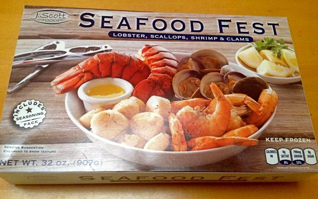 Review j scott foods seafood fest from costco frozen for Costco frozen fish