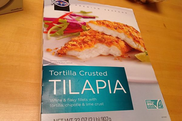 Review high liner tortilla crusted tilapia from costco for Costco frozen fish